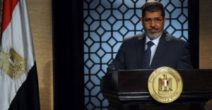 Muslim Brotherhood leader Mohamed Morsi