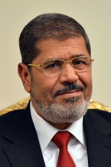 Egyptian president Mohamed Morsy