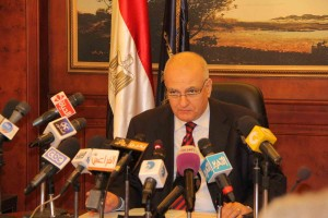 The shuffle in the Ministry of Interior announced on Monday at a press conference will move thousands of officers into new positions (photo: Mohamed Omar)