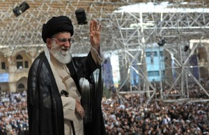 Ayatollah Ali Khamenei said Tehran will not cede to the pressure exerted by the West (AFP PHOTO)