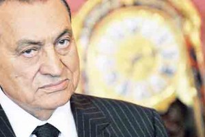 Egyptian ousted President Hosni Mubarak AFP PHOTO / ATTILA KISBENEDEK