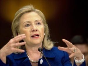 US Secretary of State Hillary Clinton (File photo)