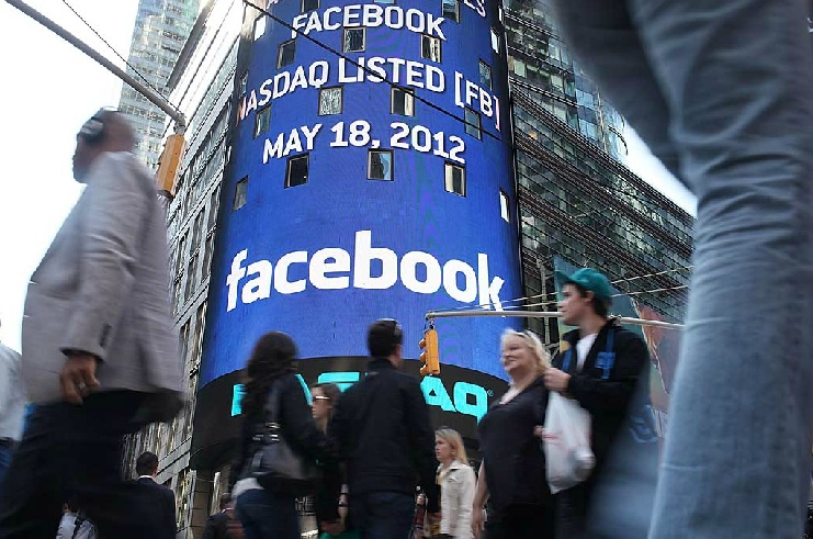 Facebook shares have dropped more than 35% from the IPO price in May of $38 (AFP PHOTO)