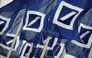 Deutsche Bank flag
