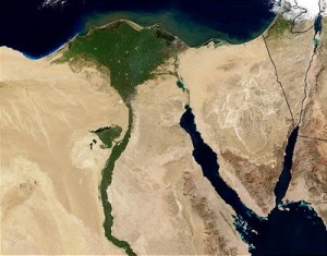 The Nile Basin Treaty is expected to come up in the meeting between President Morsy and President Wolde-Giorgis