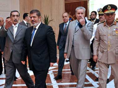 President Mohamed Morsy is said to be narrowing his list for cabinet members