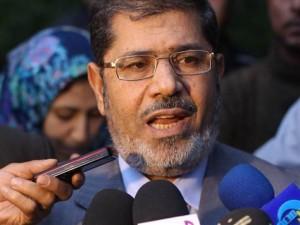 President Morsy speaks at a press conference (File photo / AFP)