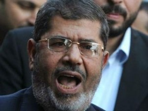 President Morsy will not have an easy time in a battle with multiple branches of Egypt's judiciary (photo AFP)