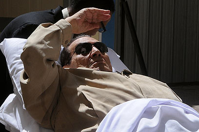 Ousted president Hosny Mubarak is suffering from a myriad of physical ailments which could mean his early released from prison early, according to reports (file photo: AFP)