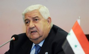 Syrian Foreign Minister Walid al-Muallem will reportedly hold talks with Iran on Sunday (file photo: AFP)