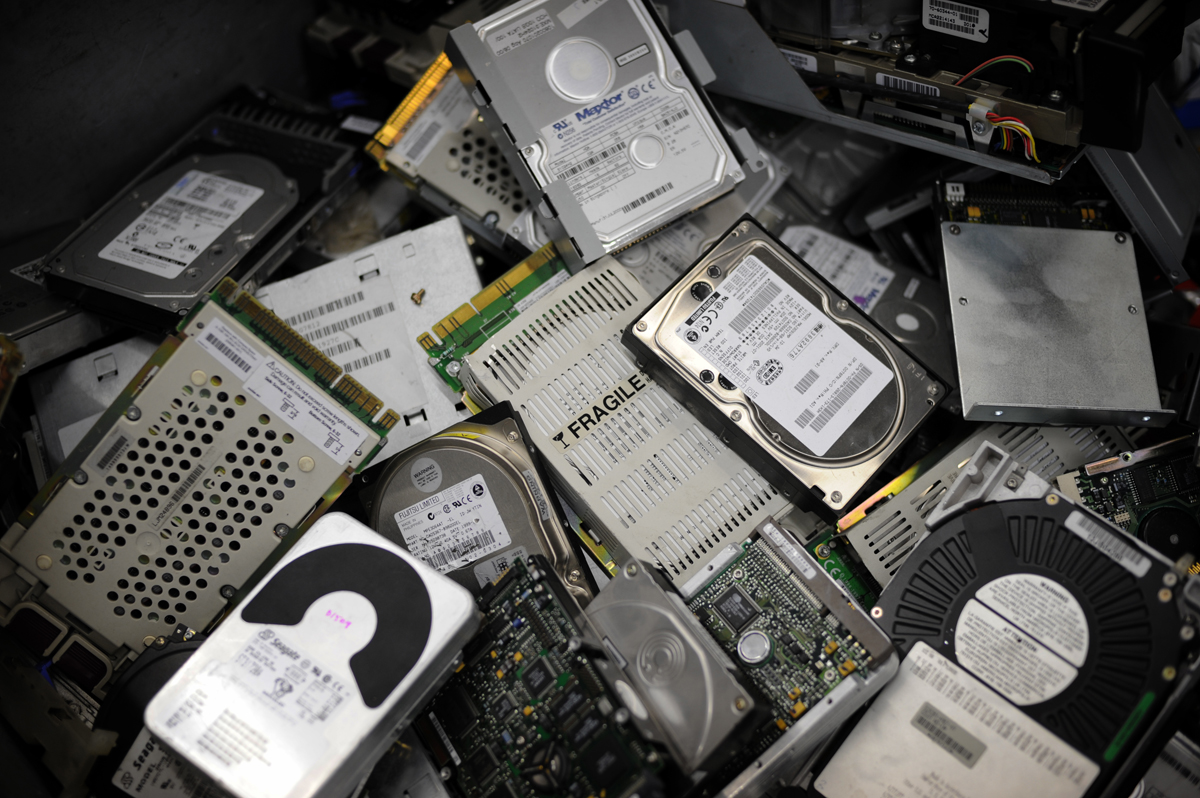 Information Technology specialists demand that the government pay attention to management of electronic waste (AFP Photo)