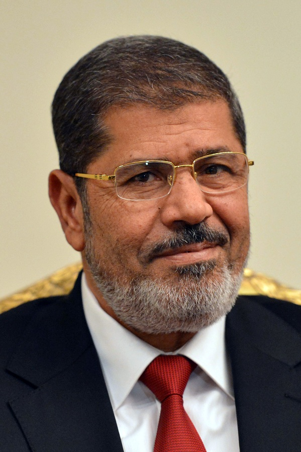 Egypt's President Mohamed Morsy will be visiting the US next month (File photo) AFP PHOTO / KHALED DESOUKI