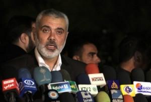 Gaza's Hamas Prime Minister Ismail Haniya (File photo) AFP PHOTO / Said Khatib