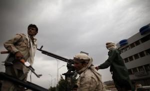 Yemeni tribesmen in Sanaa (file photo) AFP PHOTO