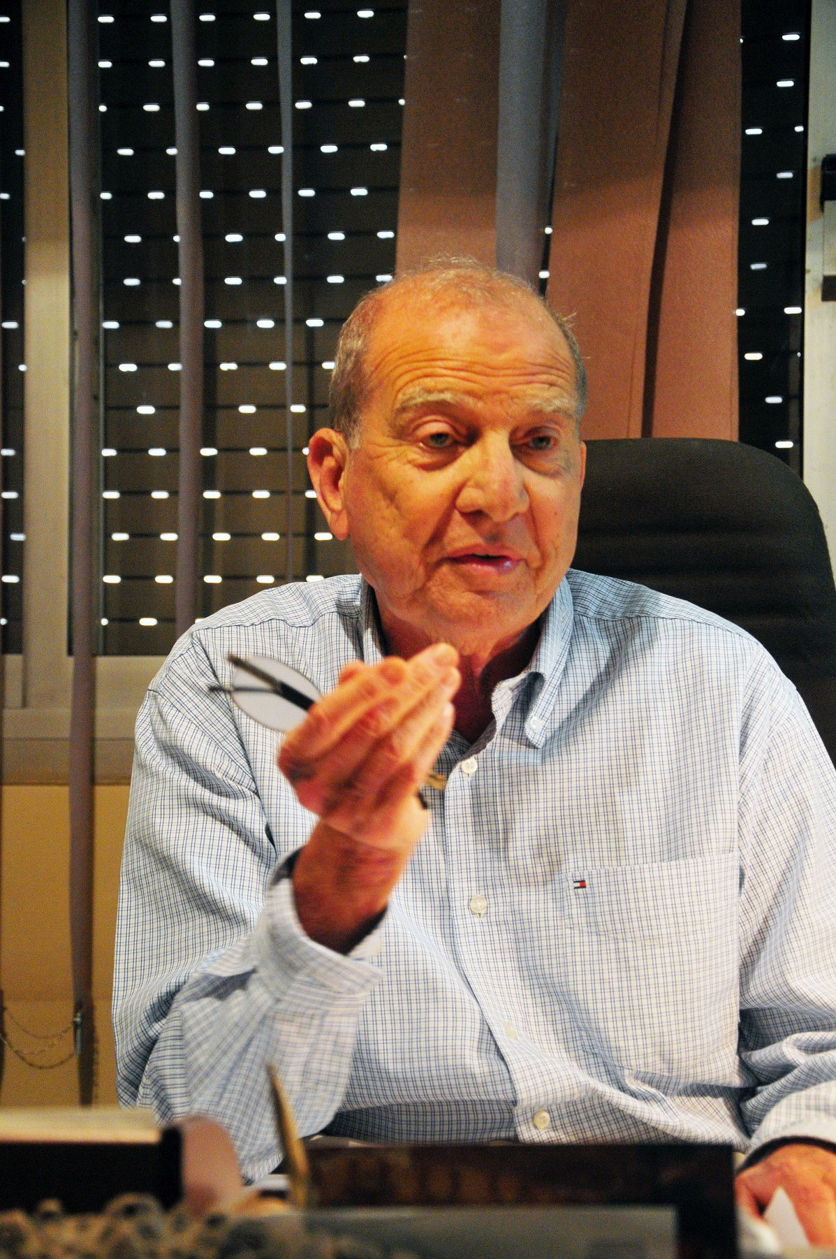 Head of the Egyptian Social Democratic Party, Mohamed Aboul-Ghar (Photo by Hassan Ibrahim)