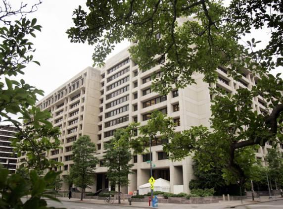 International Monetary Fund headquarters in Washington DC (File photo) AFP PHOTO