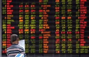 Asian shares continued to rise Tuesday shrugging off uncertainty over the eurozone debt crisis (AFP PHOTO)