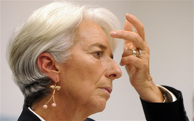 Managing Director of the International Monetary Fund arrives to Cairo today (AFP PHOTO)