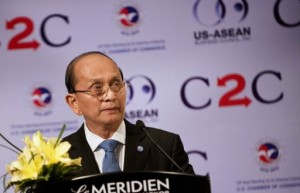 Myanmar's President Thein Sein promoting reform agenda (AFP Photo)