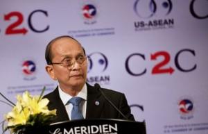 Myanmar's President Thein Sein promoting reform agenda (AFP Photo)