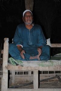 Snake hunter Sheikh El-Tayeb Morsy Abdel-Rahman Sherief