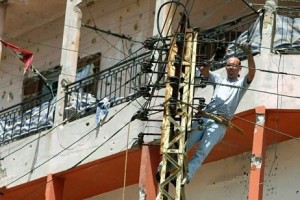 Lebanon's 25-year power crisis costs US$1.5 billion annually in lost business, according to some estimates (Photo caption: AFP/ Ramzi Haidar )