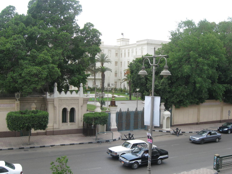 The presidential palace in Heliopolis (Connor Molloy / DNE)