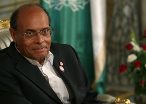 Tunisian President Moncef Marzouki (photo: AFP)
