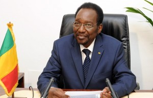 Mali's interim president Dioncounda Traore AFP PHOTO / HABIBOU KOUYATE