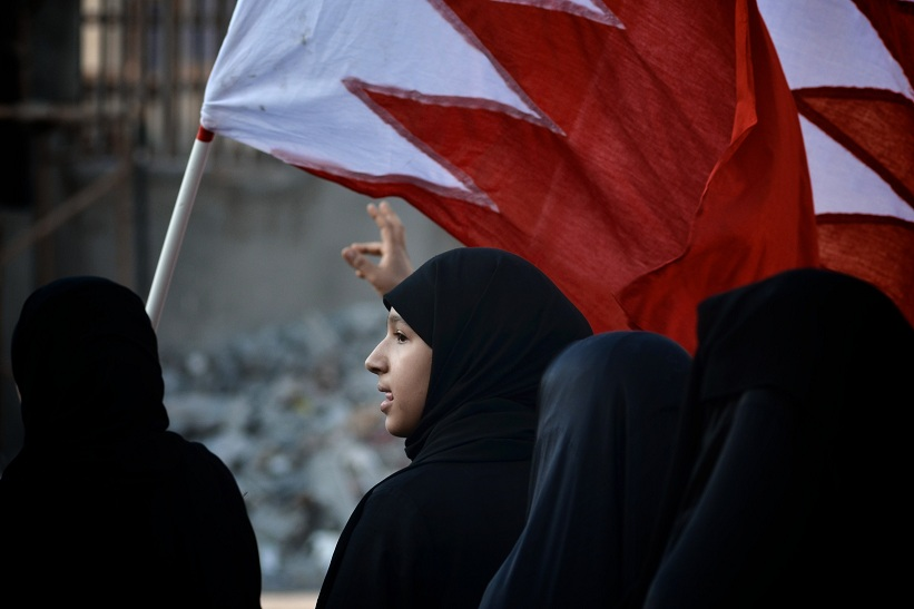 Bahrain women protesters (file photo) AFP PHOTO / MOHAMMED AL-SHAIKH