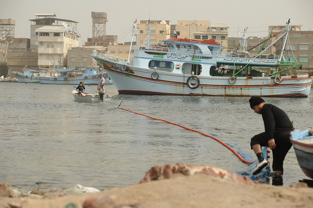 With pressures on local fish stocks increasing, some Egyptian fisherman are venturing out into the territorial waters of other countries Laurence Underhill / DNE