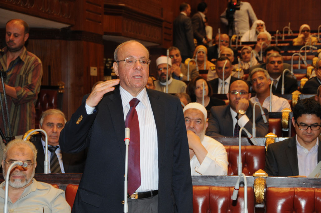 Constituent assembly debates a clause in the proposed constitutional document (File photo) Mohamed Omar