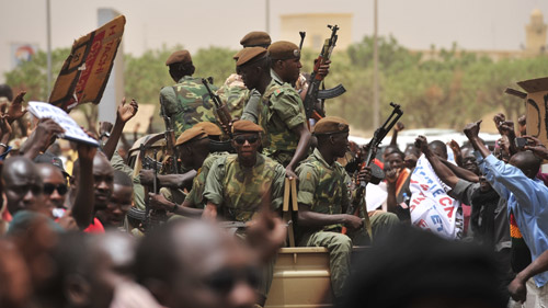 Malian army admitted responsibility for shooting a bus at a checkpoint in Diabali (File photo) AFP PHOTO / ISSOUF SANOGO