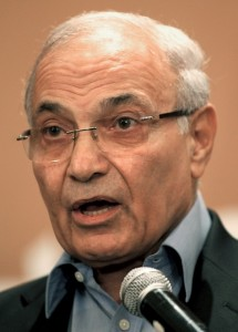 Ahmed Shafiq, Egypt's former prime minister and presidential hopeful AFP PHOTO / MARWAN NAAMANI