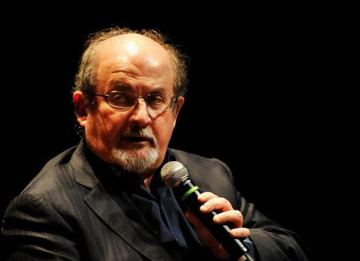 "Muslims were urged to kill Salman Rushdie after he published ""The Satanic Verses"" in 1988 AFP Photo / Jerod Harris"