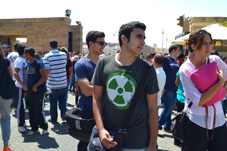 Student protesting (File photo) DNE Archive