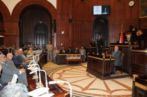 Constitutional assembly continues to debate clauses for Egypt's new constitution (File photo) Mohamed Omar