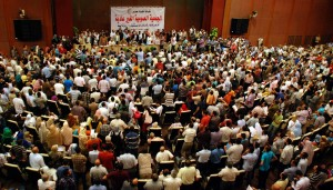 Doctors Syndicate hold a special general assembly to decide on strike action (File photo) Mohamed Omar