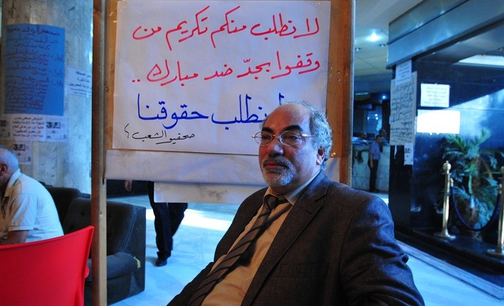 Talaat Romaih, former deputy editor in chief of Al-Shaab newspaper Hassan Ibrahim
