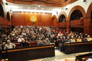 The Constitutional Assembly debates clauses of the new constitution (File photo) Hassan Ibrahim / DNE