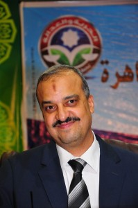Mohamed El-Beltagy, one of the top nominees to become the new president of the Freedom and Justice Party Hassan Ibrahim / DNE