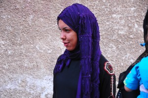 17-year-old Hend is the main income provider for her two older brothers and father Hassan Ibrahim