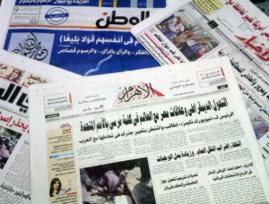 State and private newspapers Daily News Egypt