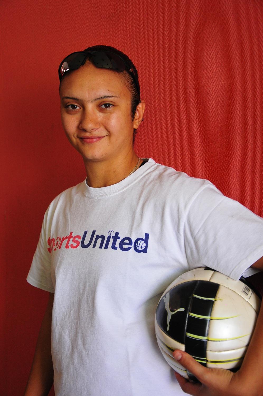 Marwa El-Hawat, General Coach for the Egyptian Under 17 girls' football team Rachel Adams / DNE