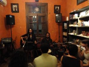 Sufi Cafe and Bookstore, located in Zamalek - Cairo
