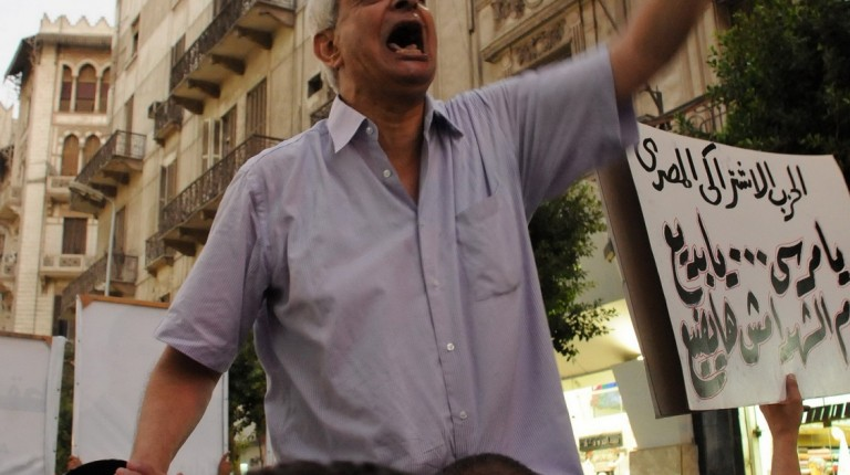 Kamal Khalil - Talaat Harb Protests (Photo by Mohamed Omar)