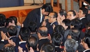Shinzo Abe was elected prime minister in September 2006 but quit after 12 months AFP, Kazuhiro Nogi