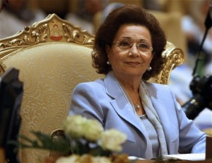 Suzanne Mubarak (File Photo) AFP Photo