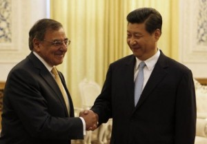 China and the US must forge stronger ties between their armies to avoid potential tensions, Leon Panetta said AFP Photo / Larry Downing
