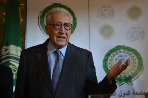 Lakhdar Brahimi Khaled Desouki / AFP Photo